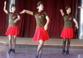 天姿广场舞原创水兵舞《情哥哥》