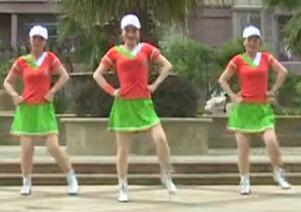 杨丽萍广场舞《马背上的萨日朗》草原风健身操