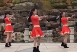茉莉广场舞《大风来了浪一浪》原创藏族风轻松快乐