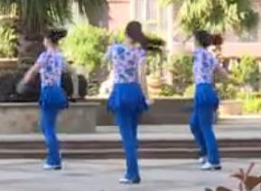 杨丽萍原创广场舞-257-活力健身操-让爱领舞