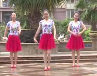 杨丽萍广场舞 爱的深伤的深 原创韵律广场舞