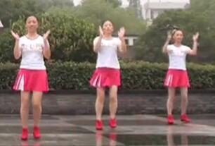 茉莉广场舞《准备好了吗》原创恰恰风现代舞简单明快