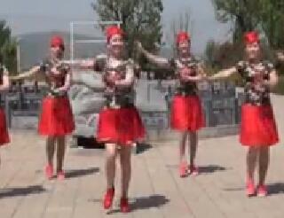 《桃花姑娘》美久廣場舞原創單人水兵舞附導師教學