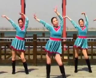 刘荣广场舞《最美的中国》原创附教学