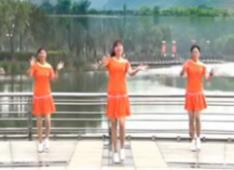 青儿广场舞 原创大众健身舞《下一次相遇》
