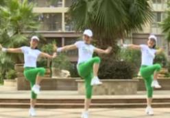 杨丽萍广场舞-第一套丽萍美体健身操第四