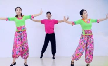 《家乡的姑娘真漂亮》糖豆广场舞课堂
