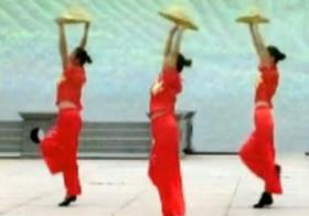 又唱请茶歌 九江百姓健康舞向霞健身舞团