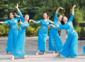 云裳廣場舞 云在飛 優美形體舞 含背面動作分解教學