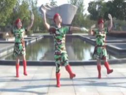 楠楠广场舞《青春集合在军旗下》八一建军节献礼