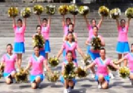 吉美广场舞原创《Boom》队形 花球啦啦操附教学