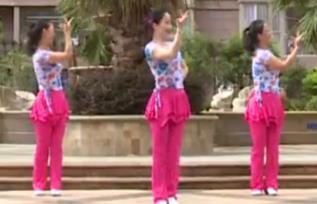十指紧扣心相守下载 杨丽萍广场舞 十指紧扣心相守 原创民族舞