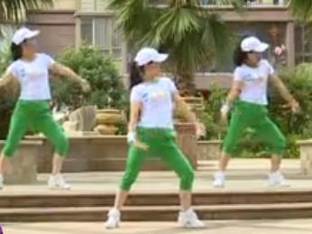 杨丽萍广场舞 第一套丽萍美体健身操第六节