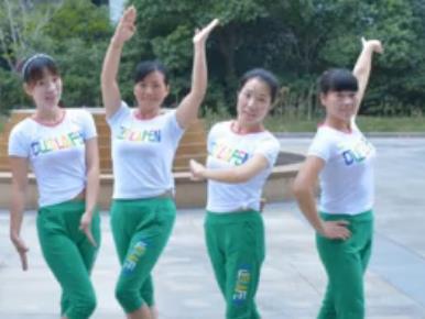 动动广场舞《草原我的天堂》韩紫灵 草原步子舞