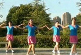 《花桥流水》茉莉广场舞 健身舞简单轻松附教学