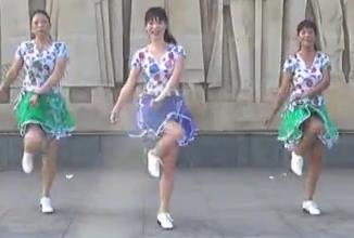 动动广场舞 步子舞新走天涯 入门32步