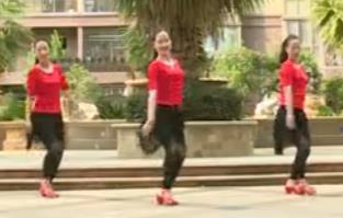 杨丽萍广场舞《甘心情愿爱着你》32步入门