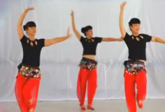 吉美广场舞原创《西域风情舞》附教学