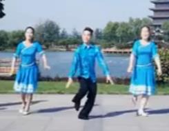 广场舞《雪山姑娘》 廖弟广场舞