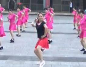 重庆叶子广场 布尔津情歌 原创水兵舞