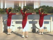 春英广场舞 最美的情缘 含背面动作分解教学