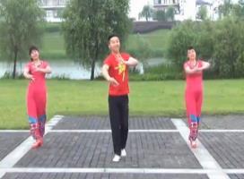 楠楠广场舞 时光海湾(动感DJ舞蹈)