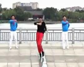 青儿广场舞 《草原中国心》大型集体舞含教学