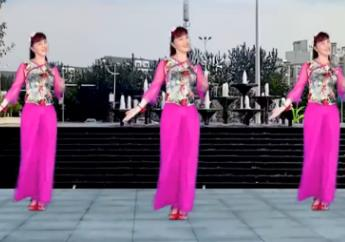 惠汝广场舞《爱情就像一首歌》原创抒情版附教学