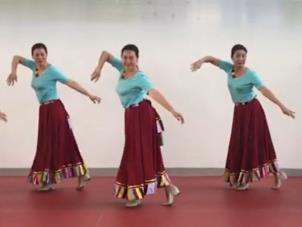 应子广场舞 山歌的故乡 含背面动作分解教学
