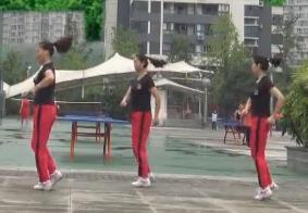 重庆叶子广场舞原创32步《爱情让我心痛》附教学