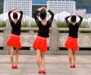 吉美广场舞原创《活力恰恰》基本恰恰一
