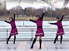 青兒廣場舞《雨中的思念》原創抒情廣場舞下載