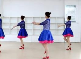 刘荣广场舞《我是剩女》原创附教学和背面演示