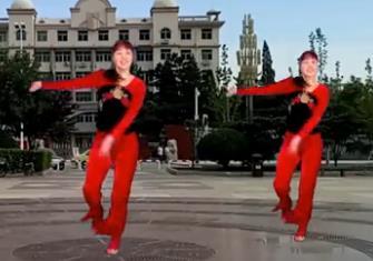 惠汝广场舞《hello新年》原创附教学新年舞