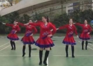 重庆叶子广场舞《路灯下的小姑娘》原创附教学