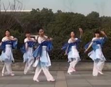 茉莉廣場舞《又見江南雨》原創古典舞民族舞附教學