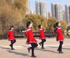 美久廣場舞《共筑中國夢》現代舞附導師教學