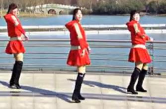 青兒廣場舞《贊贊新時代》原創快樂健身舞