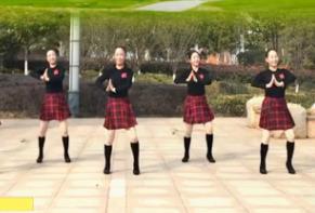春英广场水兵舞【多彩的哈达】