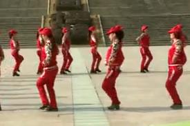 杨丽萍广场舞【欢乐的海洋】藏族舞集体圈圈舞