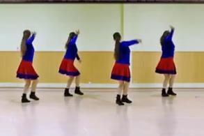 春英广场舞【陪你一起看草原】64步广场舞