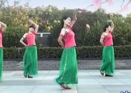 茉莉廣場舞《雪花來了梅花開》原創中三華爾滋附教學