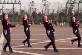 美久广场舞团 与爱共舞 正背表演与动作分解