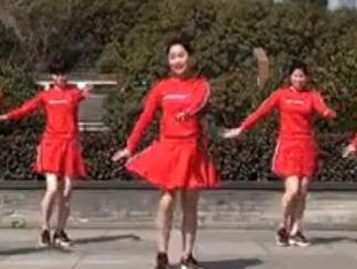 茉莉廣場舞《全家福》原創拜年賀歲團圓舞附教學