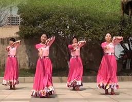 茉莉广场舞《我向草原问个好》视频和舞曲下载