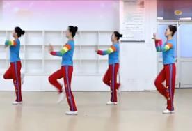 刘荣广场舞《小村庄之恋》原创附教学