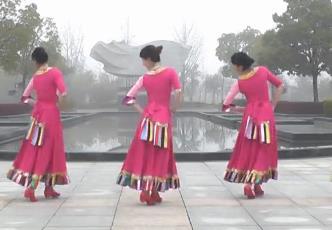 動動廣場舞《水邊的格桑梅朵》藏話舞風格原創含教學