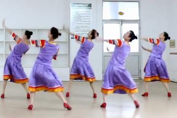 刘荣广场舞《看山看谁看四川》原创附教学和背面演示