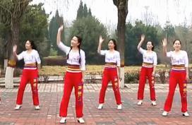 云裳廣場舞《站在高高的山崗上》沚水老師原創附分解-視頻下載