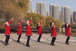 美久广场舞《红豆红》抒情舞附导师教学-视频下载